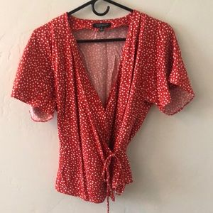 Flowy wrap blouse from And Other Stories